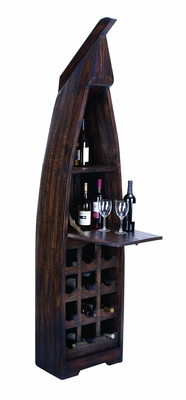 Boat Wine Cabinet Bar in Unique Style For Coastal Villas Brand Woodland