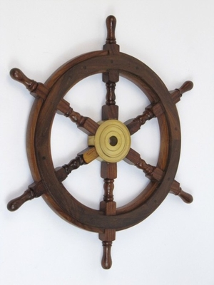 Bologna Ship Wheel, Beguiling And Glorious Naval Decor Brand IOTC