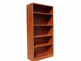 Bookcase, 31W X14D X 655H Cherry by Boss Chair