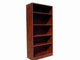 Bookcase, 31W X14D X 655H Mahogany by Boss Chair