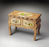 "Bountiful Hand Painted Accent Chest 34""W by Butler Specialty"