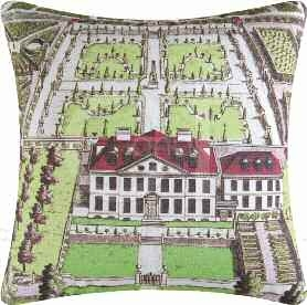 Boxwood Abbey Estate Pillow 18 x18 Inches Brand C&F
