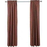Braddock Panel Scalloped Lined Set of 2 84x40 - 12365 by VHC Brands