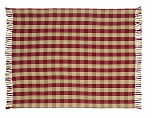 "Braddock Woven Throw 50x60"" VHC Brand - 12383 Brand VHC"