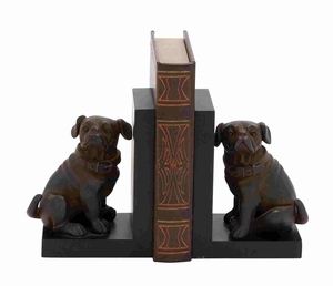 Bradford Exclusive Dog Bookend Pair Brand Benzara