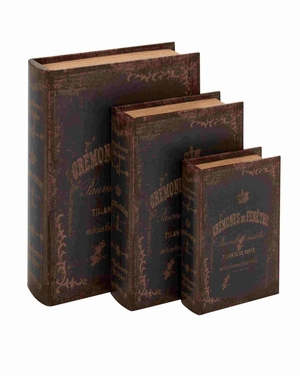 Bradford Perfect Book Box Set Brand Benzara