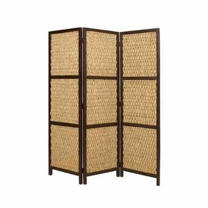 Braided Rope Screen, 3 Panel, 60 Inch L x 72 Inch H Brand Screen Gems