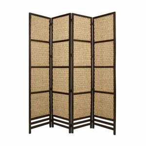 Braided Rope Screen, 4 Panel, 80 Inch L x 96 Inch H Brand Screen Gems