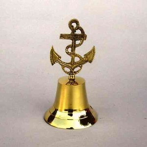 Brass Anchor Bell Delivers Real Maritime Feel Brand IOTC