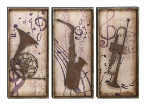 Brass And Wind Instrument Wall Decor For The Stylish Musician Brand Woodland