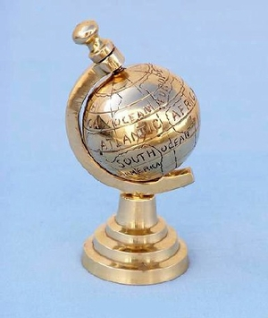 Brass Earth Globe On Stand Hot Deal Brand Wild Orchid
