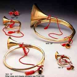Brass French Horn Large Exhibits The Passion For Music Brand IOTC