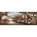 Breathtaking European Village 1 Canvas by Yosemite Home Decor