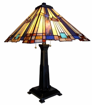 Breathtakingly Charming Mission Table Lamp by Chloe Lighting