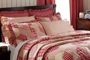 """Breckenridge Ruffled Pillow Case (Set of 2) 21"""" x 30"""" by VHC Brands"""