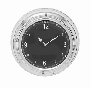 Breda Bewitching Attractive Wall Clock Brand Benzara