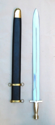 Brescia War Sword Opulent Replica With Matching Scabbard Brand IOTC