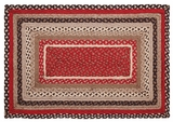 Bright and Appealing Tacoma Jute Rug Rect by VHC Brands