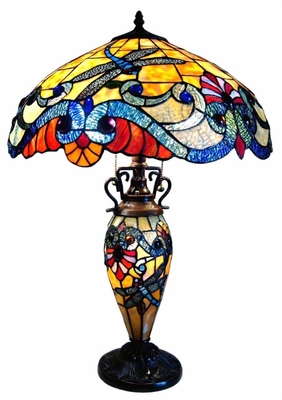 Bright and Jolly Dragonfly Table Lamp by Chloe Lighting