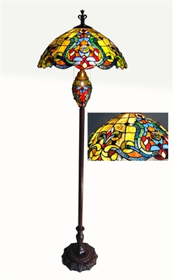 Bright and Lovely Victorian Floor Lamp by Chloe Lighting