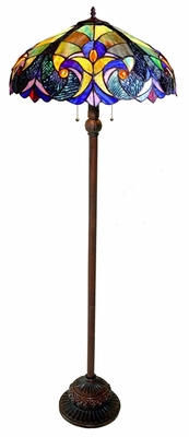 Bright and Stunning Victorian Floor Lamp by Chloe Lighting
