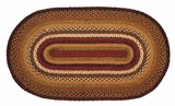 Bright and Timeless Napa Valley Jute Rug Oval by VHC Brands