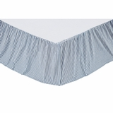 Brighton Queen Bed Skirt 60x80x16 - 25673 by VHC Brands
