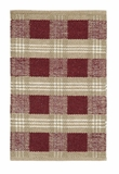 Brilliant Patterned Everson Wool & Cotton Rug Rect by VHC Brands