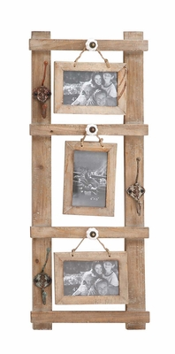 Brilliant Styled Wood Wall Photo Hook - 97246 by Benzara