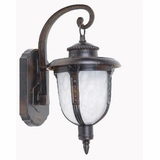 Brina Collection Fascinating Classy Styled 1 Light Exterior Light Wall Mountin Brown by Yosemite Home Decor