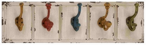 Bristol Vivacious Multi-colored Wall Hook Creation Brand Benzara