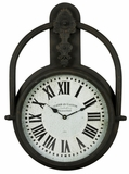 Brown Finish Attractive Styled Paulette Clock by Cooper Classics