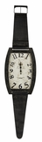 Brown Undertones Black Finish Classy Hambish Clock by Cooper Classics