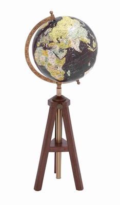 Bruges Magnificent Creative Globe Pattern Brand Benzara
