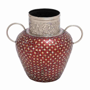 Bucharest Decorative Mosaic Vase Creation Brand Benzara