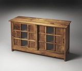 "Bucktown Solid Wood Display Cabinet 48""W by Butler Specialty"
