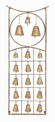 Budapest Beguiling Bell Wall Hanging Brand Benzara
