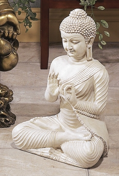 POLYSTONE BUDDHA MAKES THE SPOT EYE-CATCHING AND INFLUENCING - 75317 by Benzara