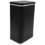 Budget Series Apartment Hamper in Black/Silver by Redmon