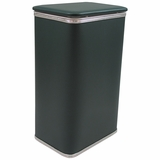 Budget Series Apartment Hamper in Green/Silver by Redmon