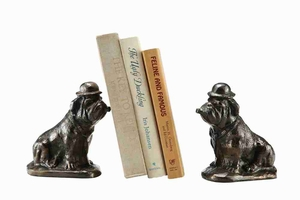 Bulldog Bookends A Great Utility Product For Reading Room Brand SPI-HOME