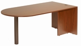 Bullet Desk, Cherry 71x35 by Boss Chair