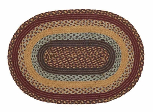 Burlington Oval Braided Rugs Brand VHC