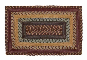 Burlington Rectangle Braided Rugs Brand VHC