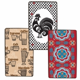 Burner Kovers Rectangle Assorted Hispanic (Talavera/Wake Up Call/Coffee Time) by Range Kleen