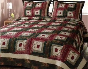 Cabin Hearth Hand Crafted Super King Size Cotton Quilt Brand Elegant Decor