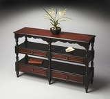 "Cafe Noir Sofa/Console Table 50""W by Butler Specialty"