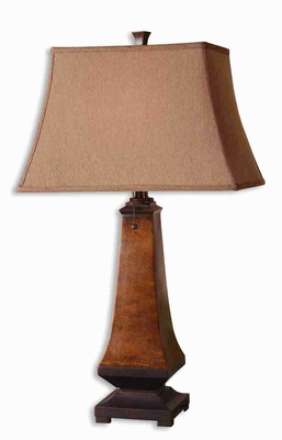 Caldaro Style Rustic Table Lamp With Oil Rubbed Bronze Details Brand Uttermost