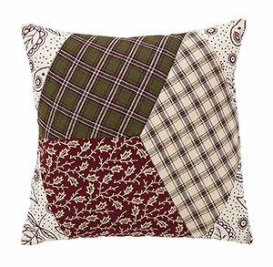 "Calistoga Quilted Pillow 10x10"" VHC Brand - 12431 Brand VHC"