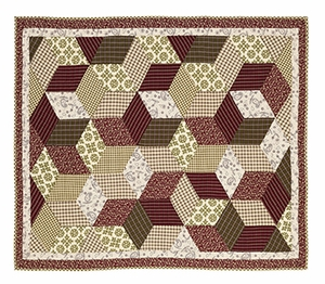 "Calistoga Quilted Throw 50x60"" VHC Brand - 12434 Brand VHC"